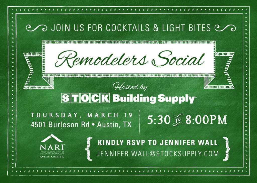 March 19 Social
